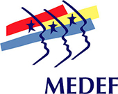 Federation of French Industry (MEDEF) logo
